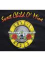 Guns and Roses baby body/romper Bullet