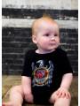 Slayer Silver body Eagle baby fotoshoot