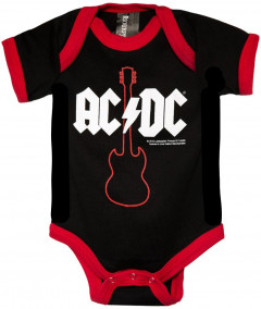 ACDC baby romper Gibson