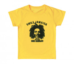 Bob Marley Kinder T-shirt Smile Jamaica (Clothing)