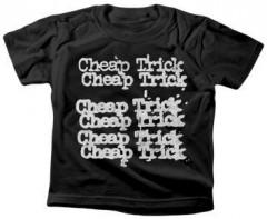 Cheap Trick T-shirt voor kinderen Stacked logo