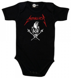 Metallica Romper Scary Guy - Metallica babykleding