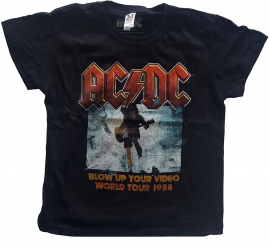 AC/DC Kids T-shirt Blow Up Your Video ACDC