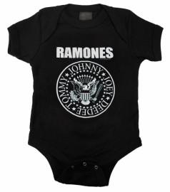 Ramones baby romper