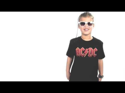 ACDC Kids T-Shirt Logo colour