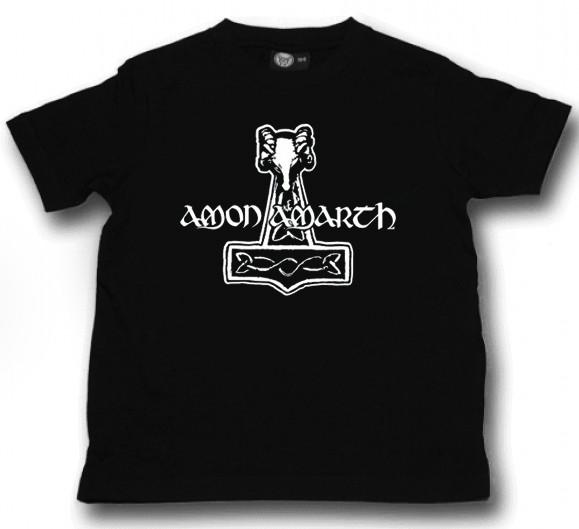 Amon Amarth Kinder T-shirt Hammer (Clothing)