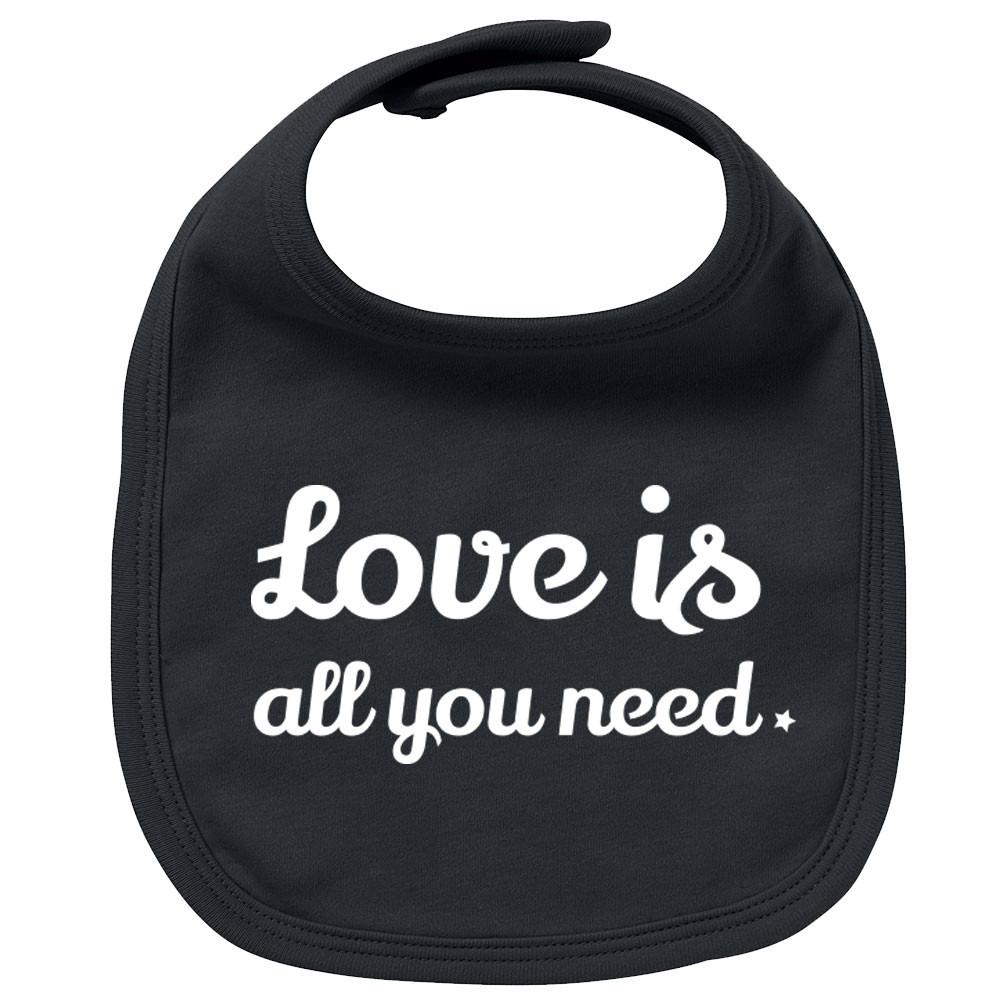 Rock Baby Slabbetje love is all you need