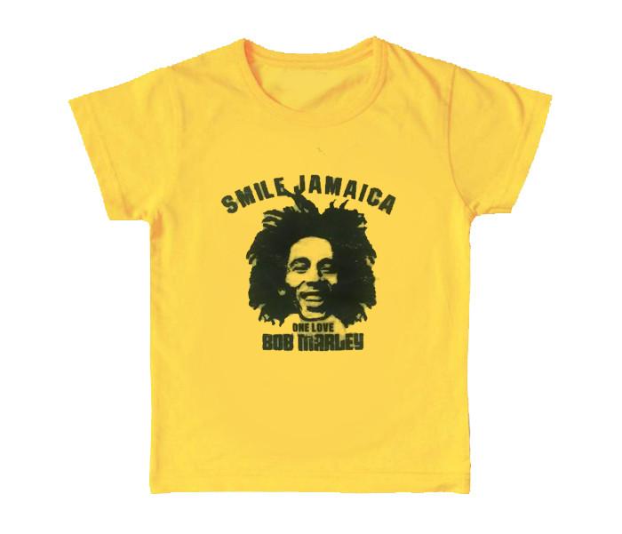 Bob Marley Kinder T-shirt Smile Jamaica (Clothing)