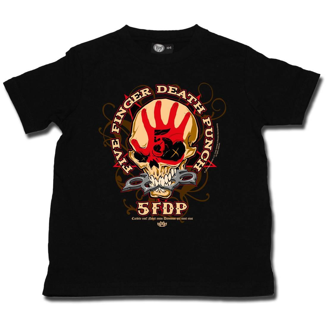 Five Finger Death Punch T-shirt voor kinderen