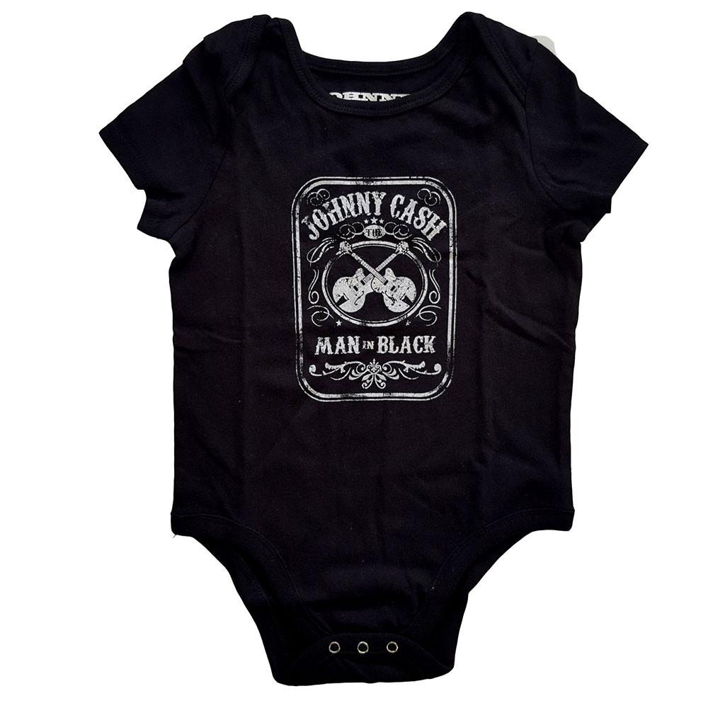 Johnny Cash body Man in black