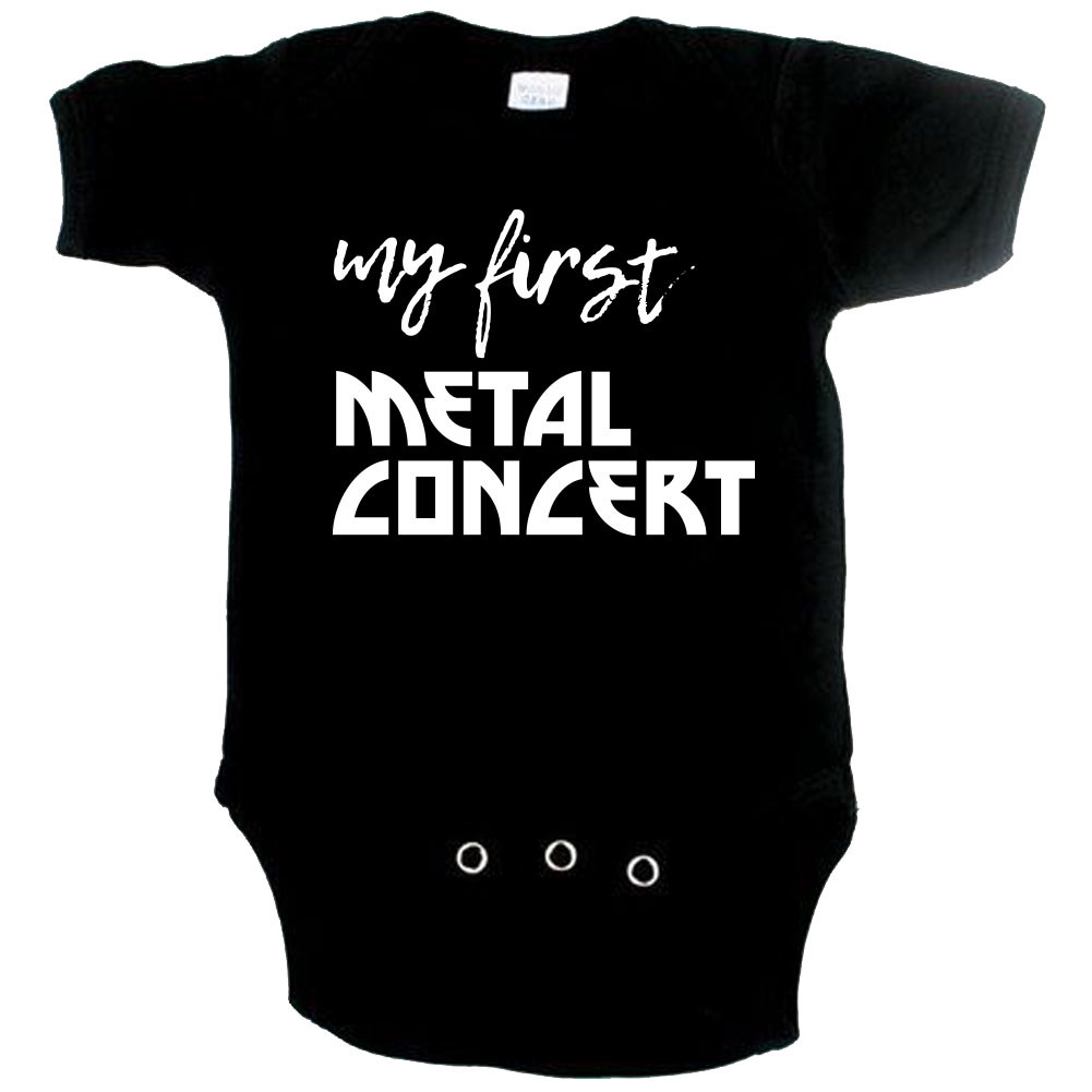 Metal babyromper my first metal concert