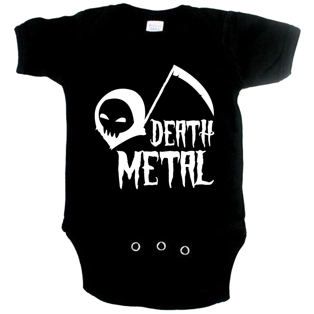 Metal babyromper death metal