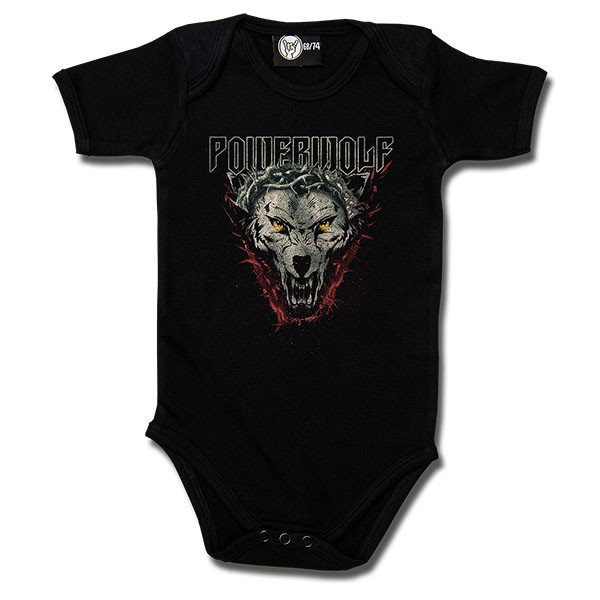 Powerwolf Baby Romper Icon wolf
