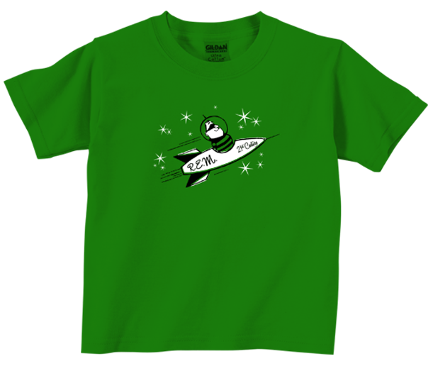 R.E.M. kinder t-shirt Rocket