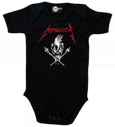 Metallica Romper Scary Guy - Metallica babykleding