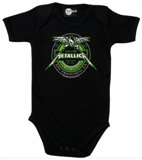 Metallica body(romper) voor babies Seek and Destroy