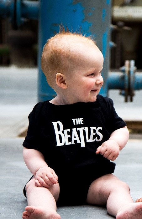 The Beatles body (romper) voor babies Eternal fotoshoot