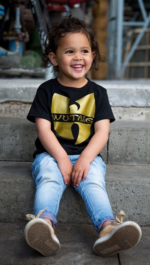 Wu-tang Clan T-shirt voor kinderen Logo fotoshoot