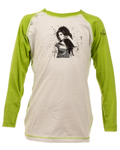 Amy Winehouse baby Baseball Longsleeve
