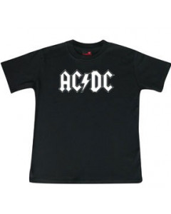 ACDC Kids T-Shirt Logo white