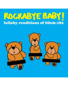 Rockabyebaby Blink-182 CD