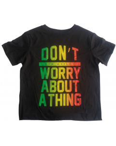 Bob Marley Kids T-shirt Don't Worry About A Thing