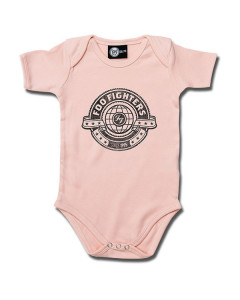 Foo Fighters baby body Logo Pink | Metal Kids and Baby collection