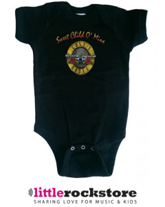Guns and roses baby romper Bullet Sweet Child of Mine