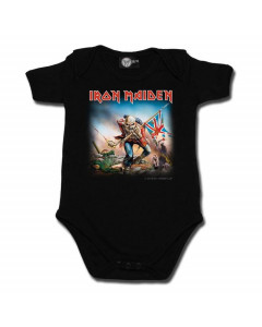 Iron Maiden baby romper Trooper