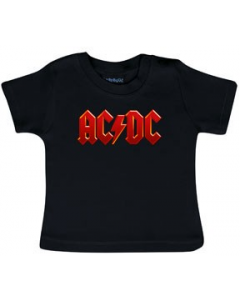 ACDC Baby T-shirt Logo Colour