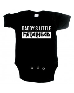 Metal babyromper daddys little metal head