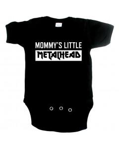 Metal babyromper mommy's little metalhead