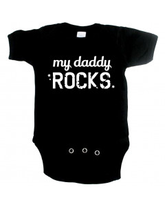 coole baby romper my daddy rocks