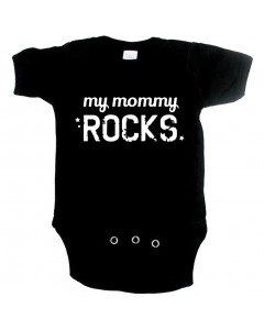 coole baby romper my mommy rocks