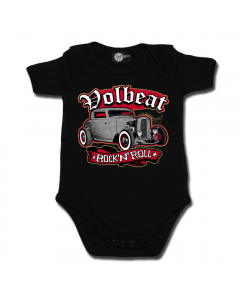 Rock 'n Roll Volbeat body(romper) voor babies