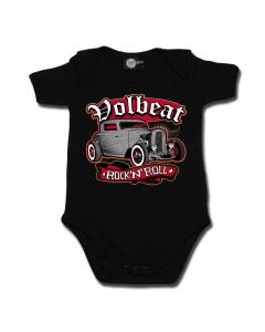 Rock 'n Roll Volbeat body(romper) voor babies
